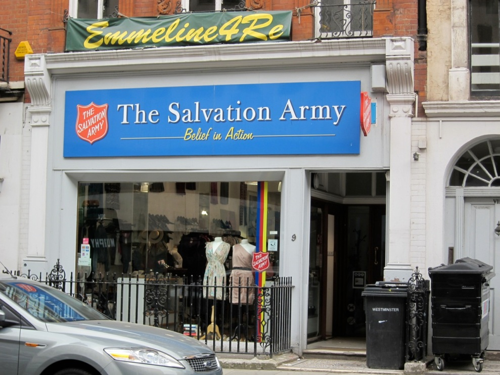 Salvation Army, Princes Street