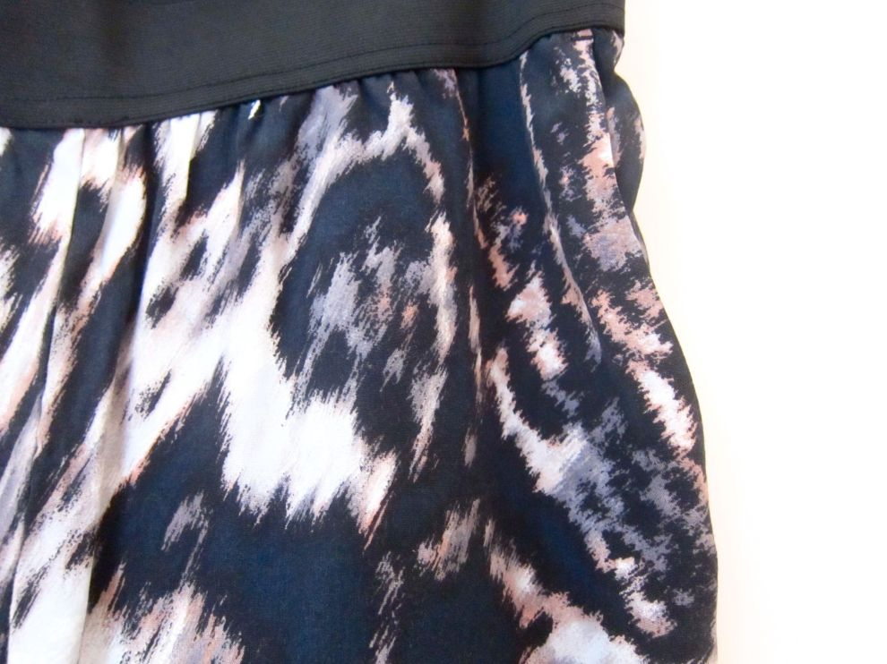 H&M animal print trousers